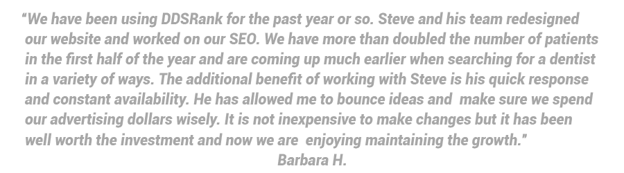 dental seo company reviews